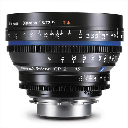Zeiss Compact Prime CP.2 15mm/T2.9 MFT Mount 1889-062