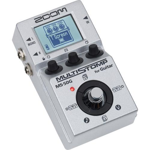Zoom  MS-50G Multistomp Guitar Pedal ZMS-50G