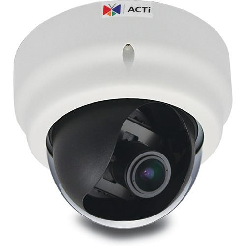 ACTi E67 2MP Indoor IP Dome Camera with SLLS & 2.8 to E67A