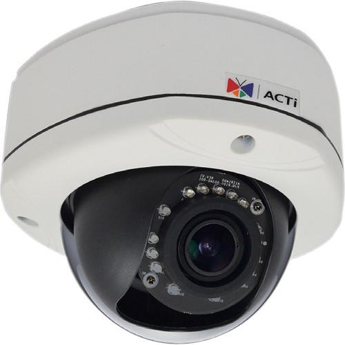 ACTi E83 5MP IR Day/Night Outdoor IP Dome Camera with Basic E83A