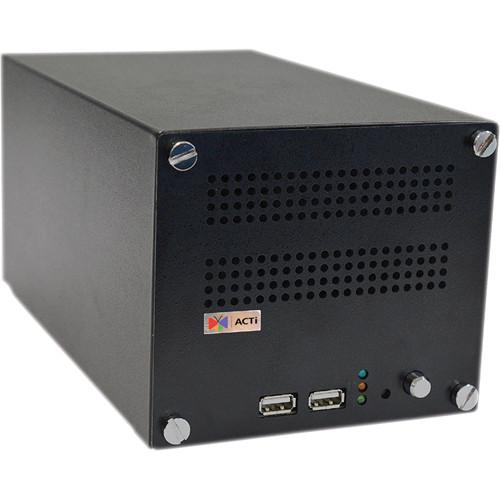 ACTi ENR-110 4-Channel 2-Bay Desktop Standalone Network ENR-110