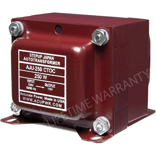 ACUPWR AJU-250 CTOC US to Japan Step Up Transformer AJU-250 CTOC