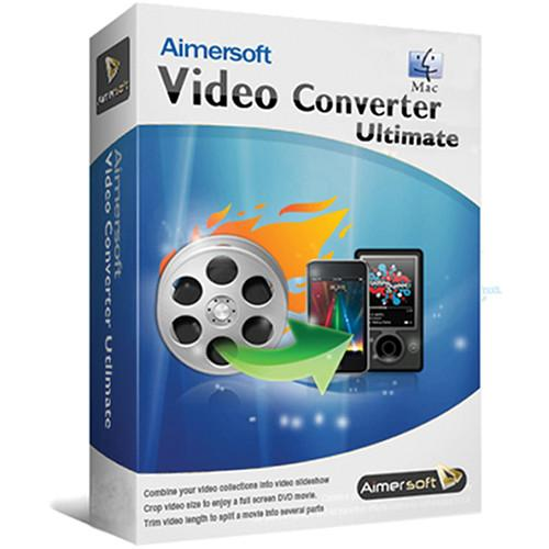 Aimersoft Video Converter Ultimate (Mac, Download) 20130524