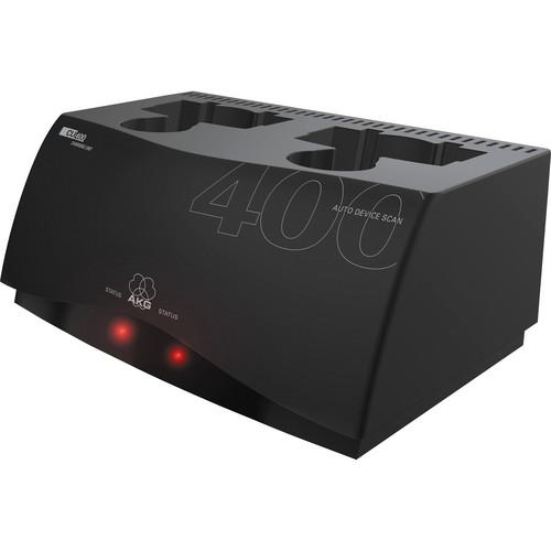 AKG CU400 2-Slot Charging Unit for WMS450 and WMS470 2934H00010