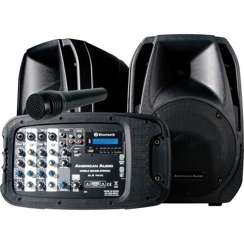 American Audio ELS-PA10 Portable PA System ELS-PA10