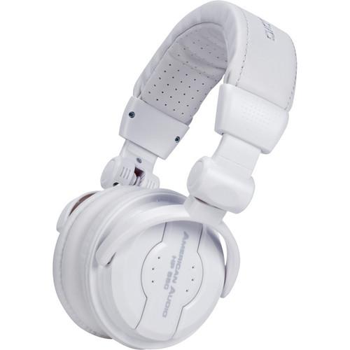 American Audio HP 550 Pro DJ Headphones (Snow) HP 550 SNOW