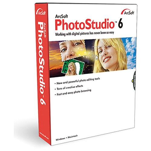 ArcSoft PhotoStudio 6 for Windows (Electronic Download) ASPS6WI