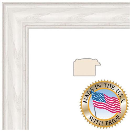 ART TO FRAMES 4098 White Wash on Ash WOM0151-59504-475-14X14