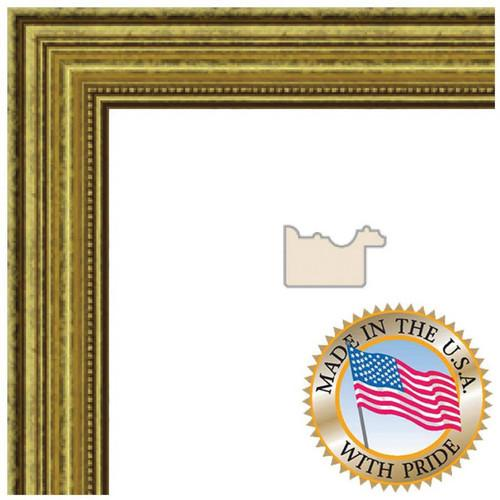 ART TO FRAMES 4159 Gold Foil on Pine WOM0066-81375-YGLD-8X8