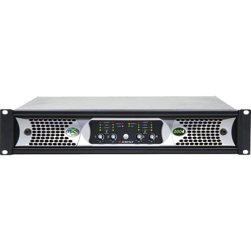 Ashly nX Series NX8004 4-Channel 800W Power Amplifier NX8004