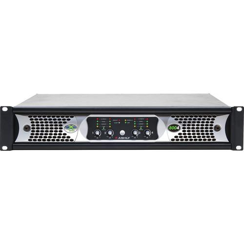 Ashly nXp Series NXP8004 4-Channel 800W Power Amplifier NXP8004