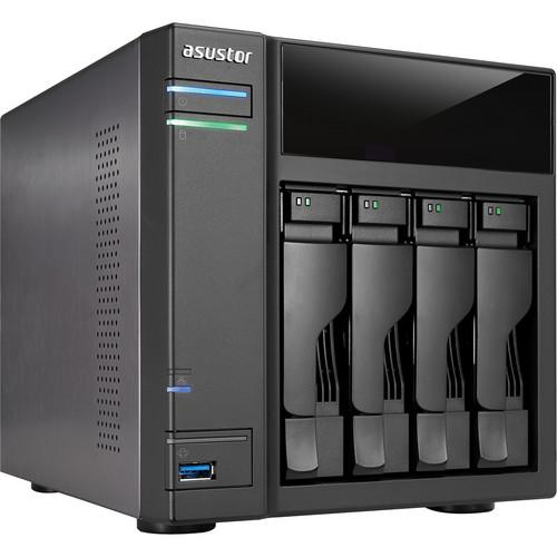 Asustor 12TB (4 x 3TB) AS-304T 4-Bay NAS Server Kit with Drives