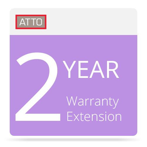 ATTO Technology 2-Year Warranty Extension FCSW-WAR2-000
