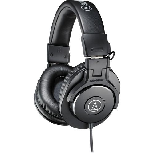 Audio-Technica ATH-M30x Monitor Headphones (Black) ATH-M30X