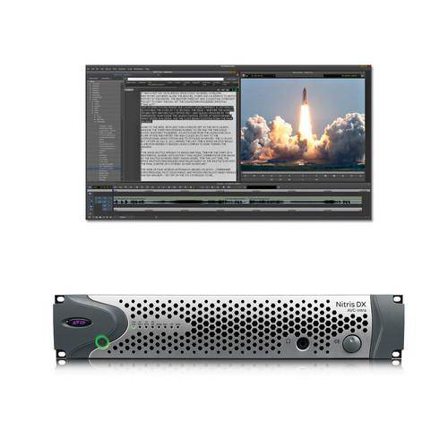 Avid NewsCutter 11 Editing Software and Nitris DX 9935-65135-02