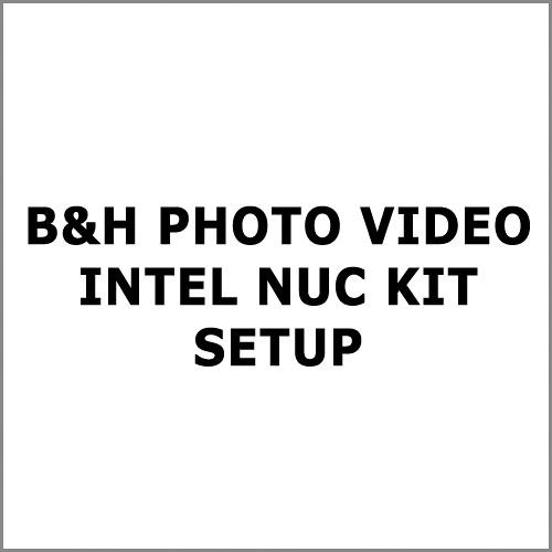 Intel NUC Setup and Install Service