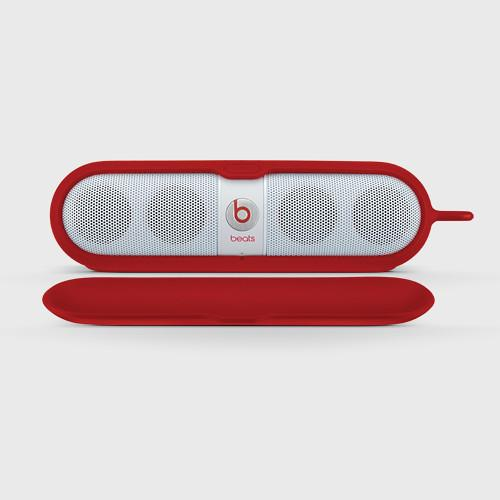 Beats by Dr. Dre  pill sleeve (Red) MHDU2G/A