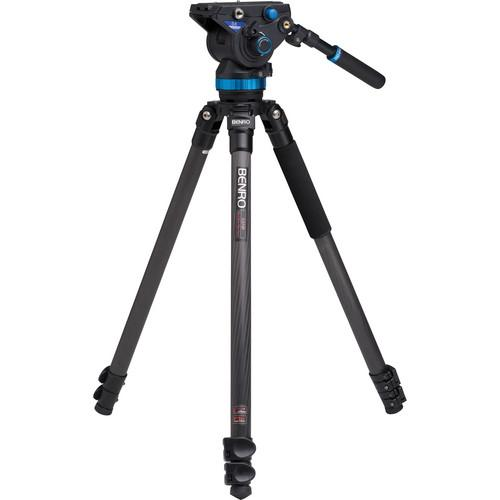 Benro S8 Pro Video Head and C3573F Series 3 CF Tripod C373FBS8