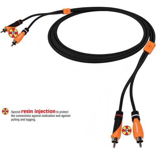Bespeco 2 RCA Male to 2 RCA Male Audio Cable SL2R300