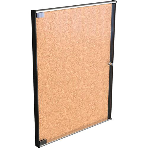 Best Rite Ultra Enclosed Bulletin Board Cabinet 94US3-01