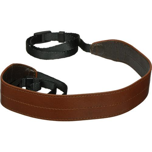 Black Label Bag Wide Camera Strap (Brown) BLB209BRN