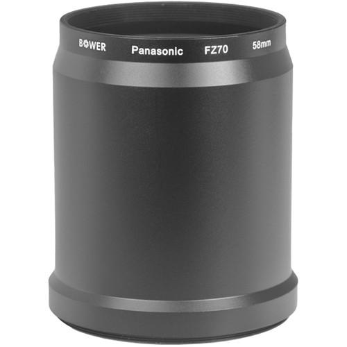 Bower 58mm Adapter Tube for Panasonic FZ70 Digital AFZ70P58