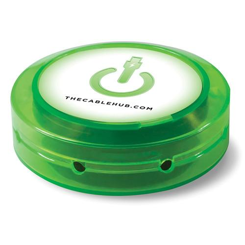 CableHub Round CableHub (Edge Glow Green) CHRD-200