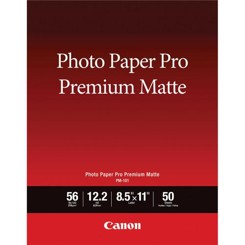 Canon PM-101 Photo Paper Pro Premium Matte 8657B004