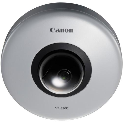 Canon VB-S30D PTZ Micro Dome Full HD PoE Network Camera 8818B001