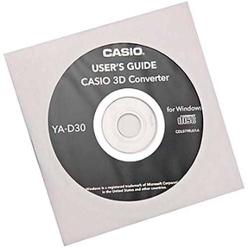 Casio 2D to 3D Conversion Software for DLP Link YA- D30