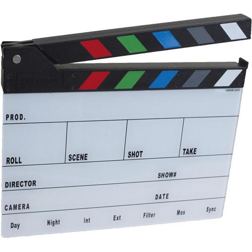 Cavision Next-Generation Slate with Color Clap Sticks SSN2818C