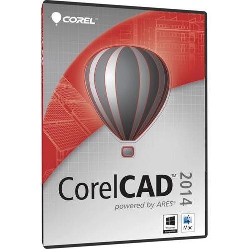 Corel  CorelCAD 2014 Software DVD CCAD2014MLPCMAM