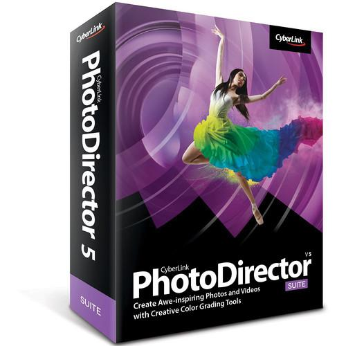 CyberLink PhotoDirector 5 Suite Software PHOTODIRECTORSUITE5