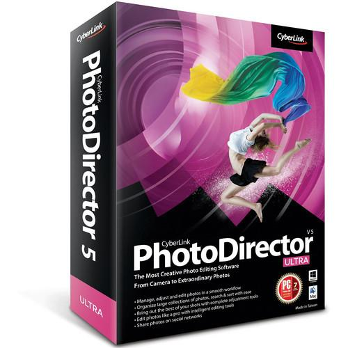 CyberLink PhotoDirector 5 Ultra Software PHOTODIRECTOR5