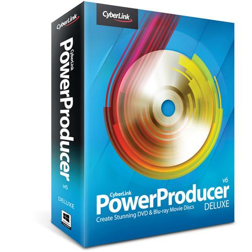 CyberLink PowerProducer 6 Deluxe (Download) POWERPRODUCER6D