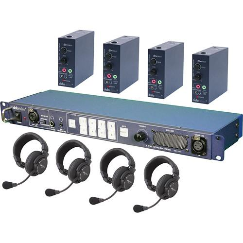Datavideo ITC100-HP1K ITC-100 Intercom, 4 x HP-1 ITC100HP1K