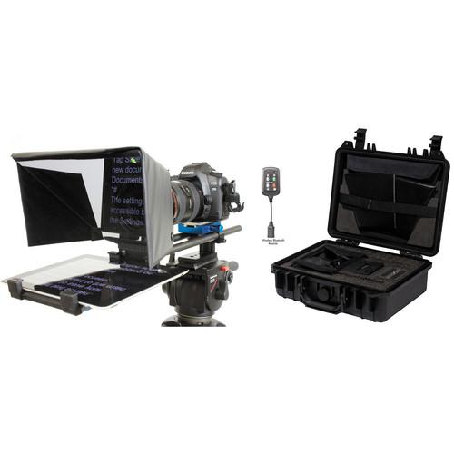 Datavideo TP500 PK Teleprompter Kit with Hard Case TP500 PK