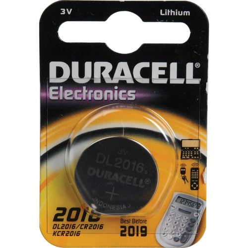 Duracell  CR2016 Lithium Coin Battery DL2016BPK