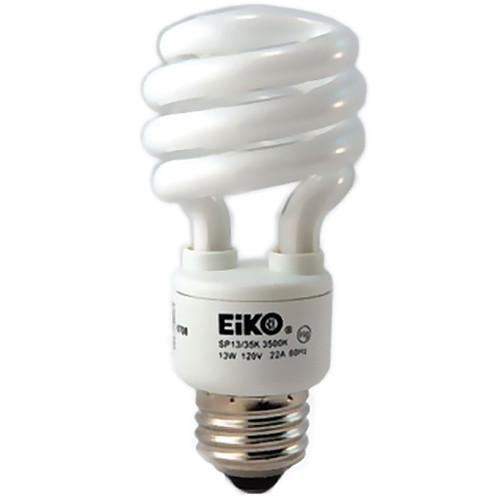 Eiko Spiral-Shaped Compact Fluorescent Lamp (13W, 120V) SP13/50K