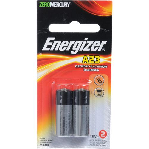 Energizer A23 12V Alkaline Battery (2 Pack) A23-2