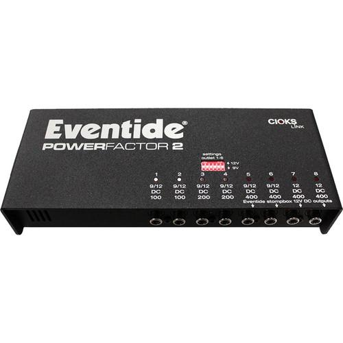 Eventide PowerFactor 2 Multi-Pedal Power Supply 1182-000