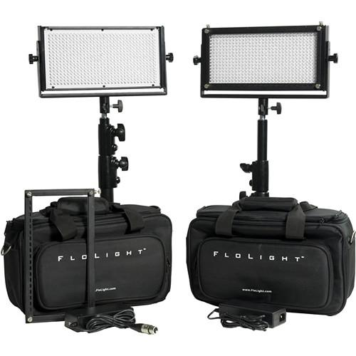 Flolight KITLED2X5N-SOFT-DF LED Video KITLED2X5N-SOFT-DF