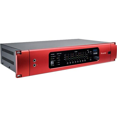 Focusrite RedNet 4 - Dante Equipped 8 Microphone Preamp REDNET 4