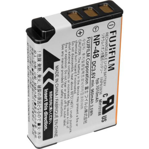 Fujifilm NP-48 Rechargeable Lithium-Ion Battery for XQ1 16406658