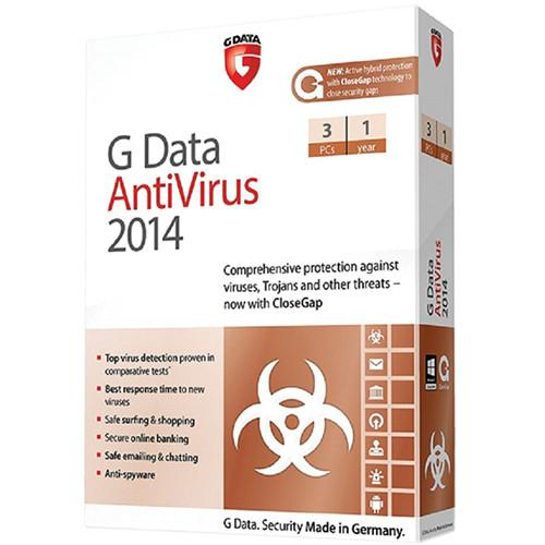G Data Software Antivirus 2014 Software Download 280914600