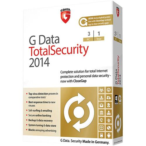 G Data Software Total Security 2014 Software Download 280948000