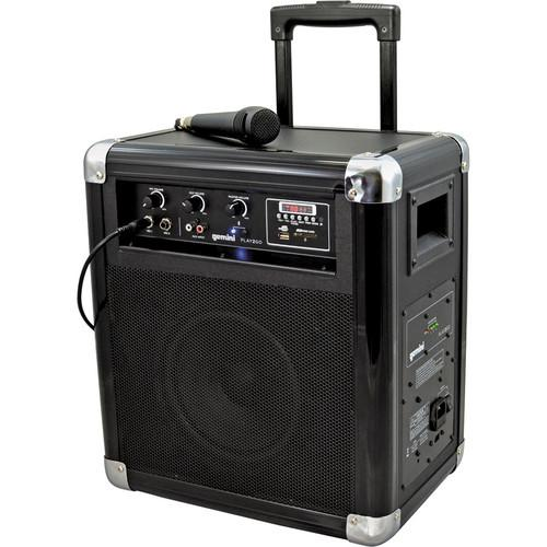 Gemini Play2Go Portable 2-Way PA Sound System PLAY2GO