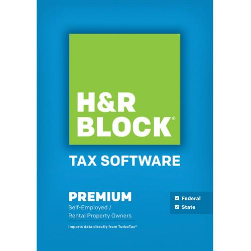 H&R Block Premium 2013 Tax Software for Windows 1516800-13