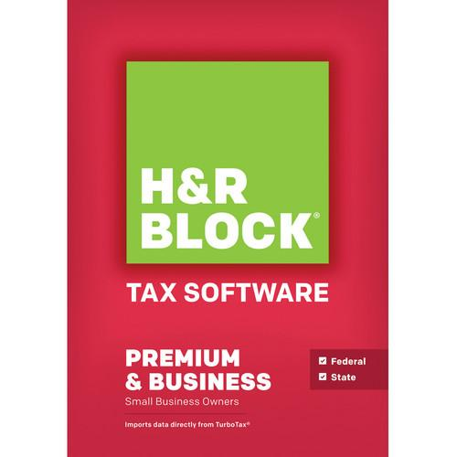 H&R Block Premium and Business 2013 Tax Software 1116800-13