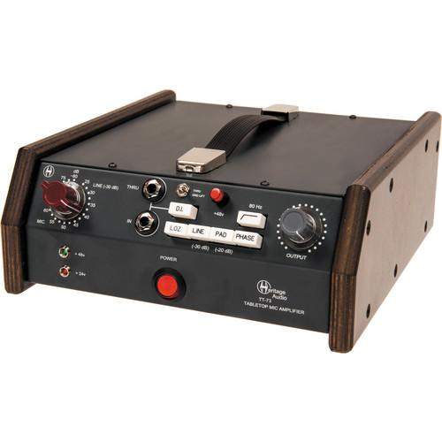 Heritage Audio TT-73 Tabletop Microphone Preamplifier TT73
